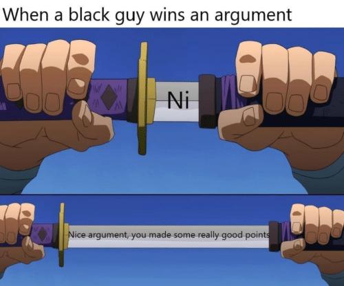He said N-word - meme