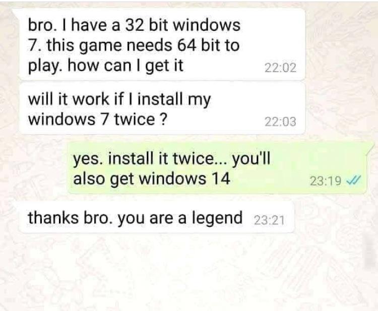 legend - meme