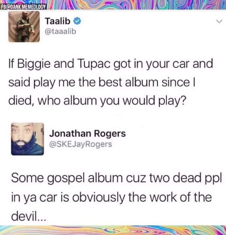 This is gospel - meme