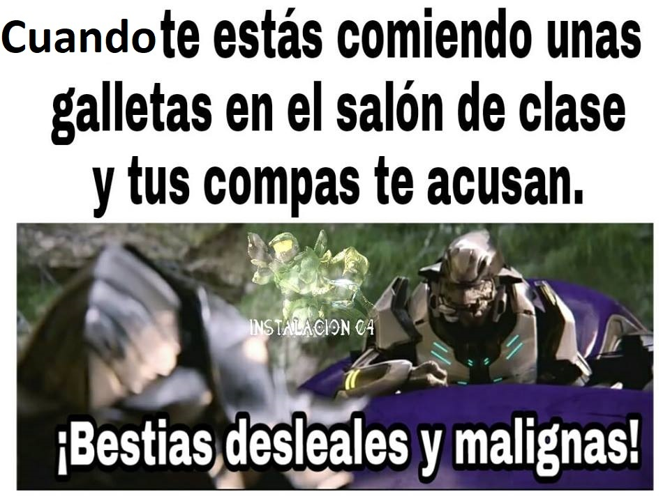 el master chief - meme