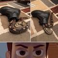tem uma bota na minha cobra