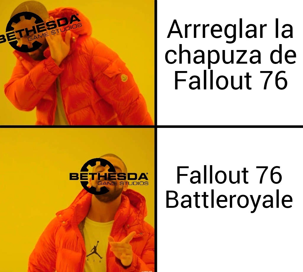Bethesda is different - meme