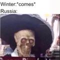 Damn winter