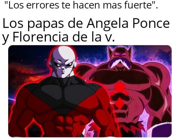 Angela Ponce(español) y Florencia de la v (argentino) ambos se cortaron el pene y tienen disforia de genero. - meme