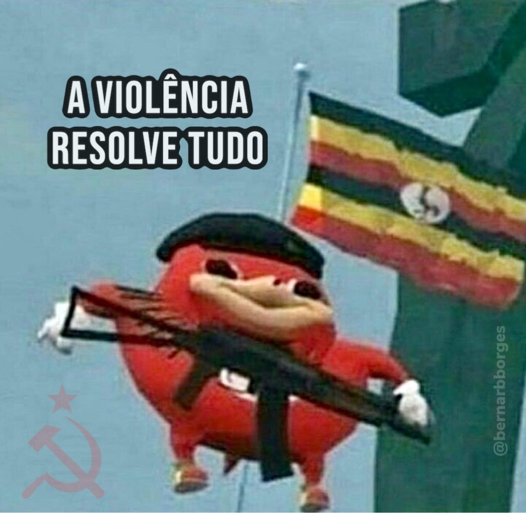 violência is the way - meme