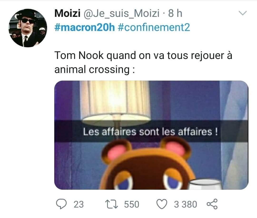 Tom nook - meme