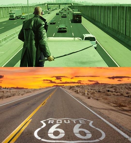 autopistas famosas - meme