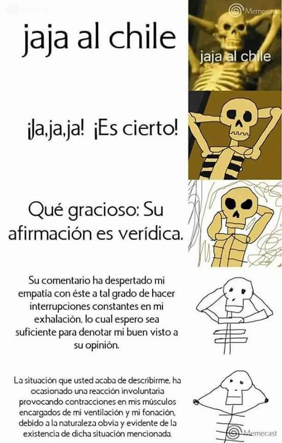 Estoy mas muerto que el esqueleto del memingo - meme