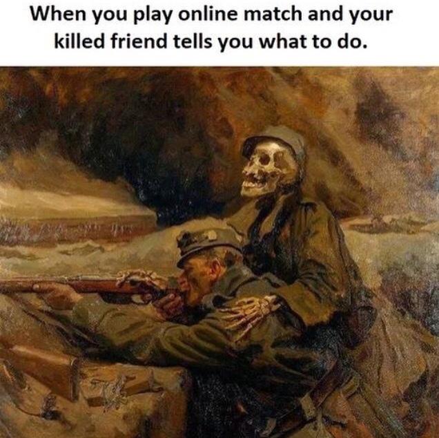 la mort c'est pas si mal ! - meme