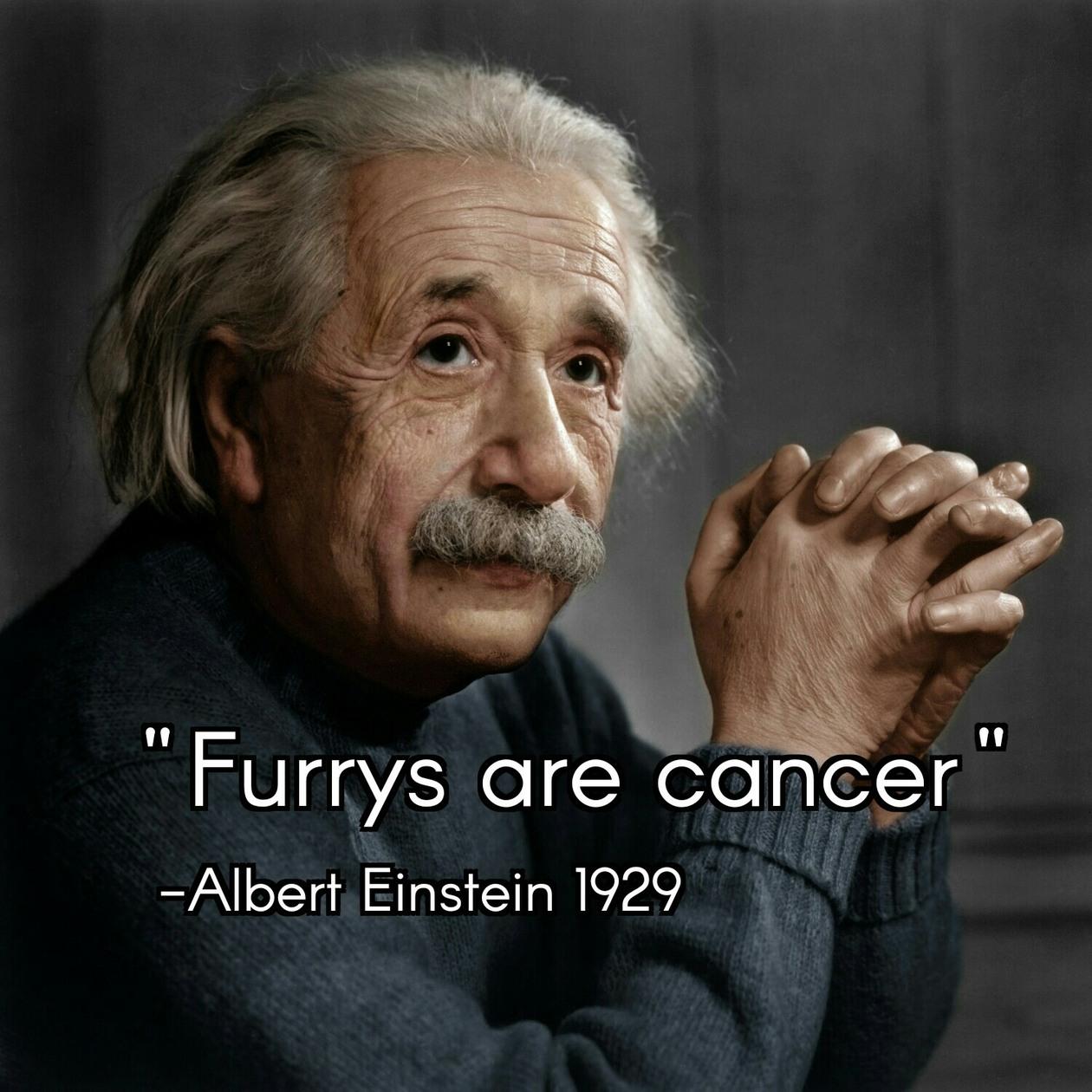 Albert Einstein knows - meme