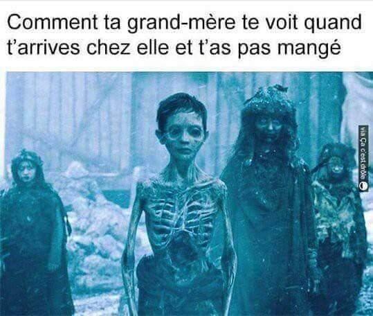 Squelette - meme