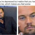 No reason to be depressed