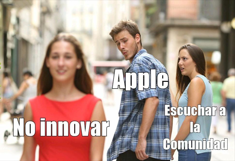 Apple desde 2010: - meme