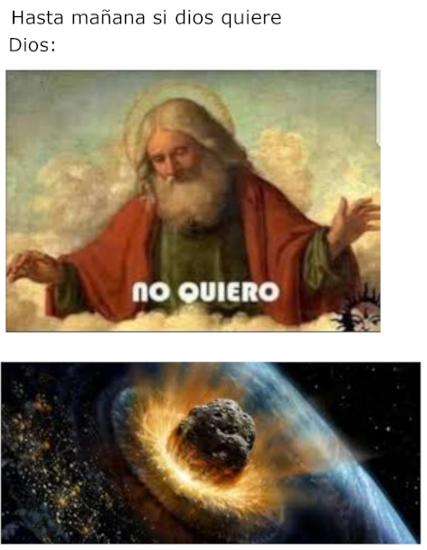 Dios v: - meme