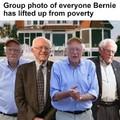Bernie cant stop debt