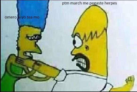 nooo homero, eso no es de kpo - meme