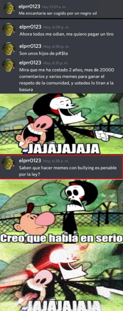 ElMaric0n123 llorando parte 3 - meme
