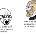 Mi primer meme de chad vs virgin