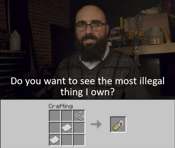 Why is it illegal - meme