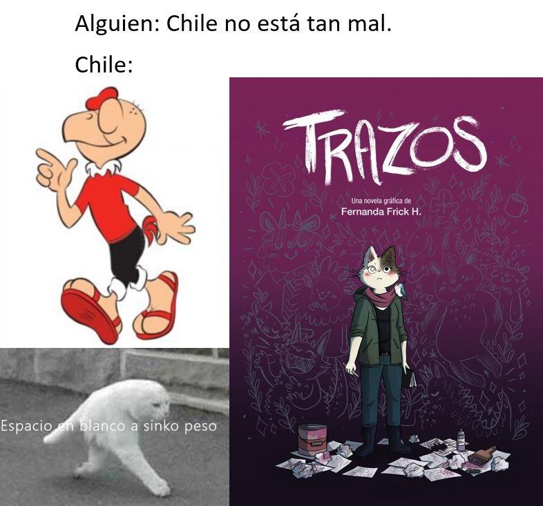 Chile está lleno de piches furros :( - meme