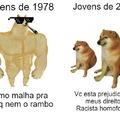 Cachorros de cada tempo