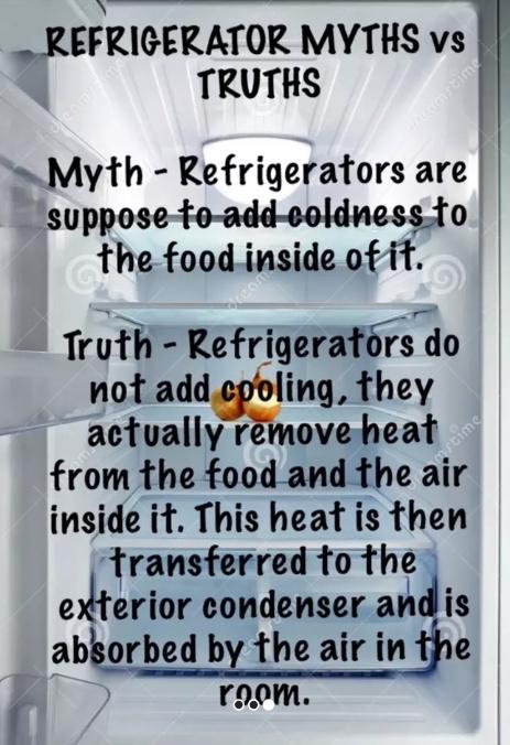 Fridge facts - meme