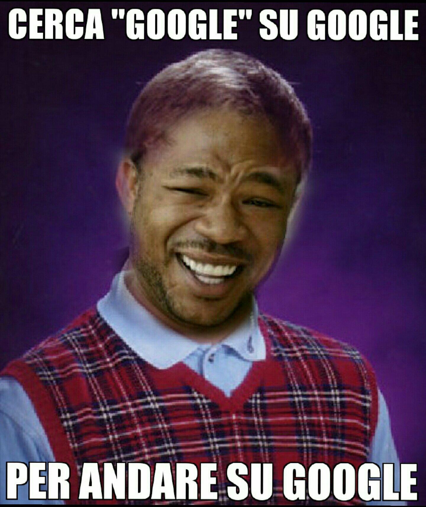 Per chi non avesse capito, nella foto c'è Bad Luck Brian con la faccia di Yo Dawg. - meme