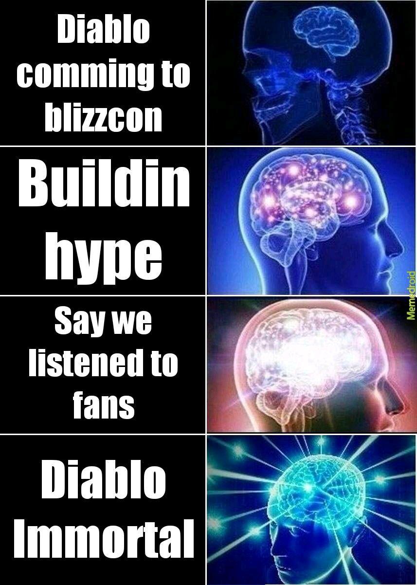 Diablo Immortal trash - meme