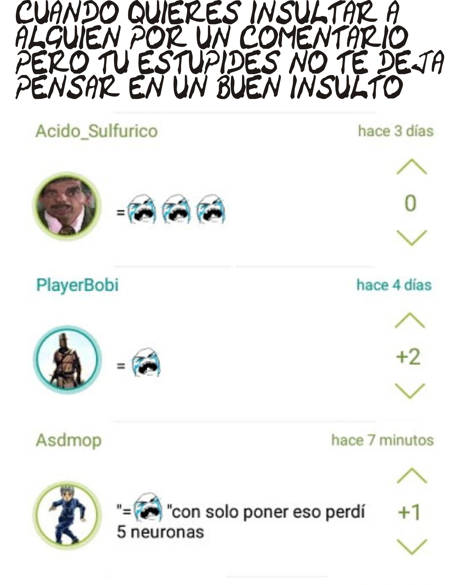 COMENTARIOS DE NIÑO AUTISTA GENÉRICO ARDIDO - meme