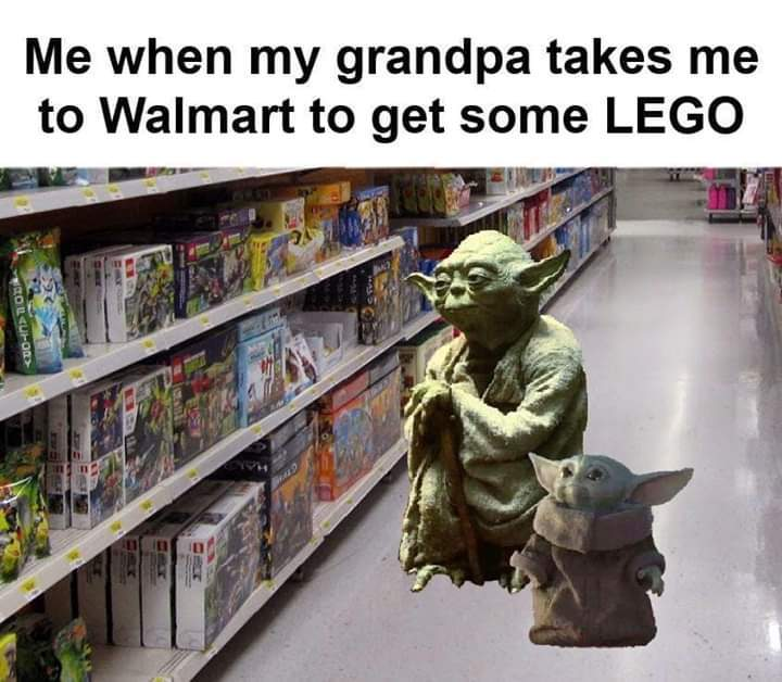 Legos or nogo - meme
