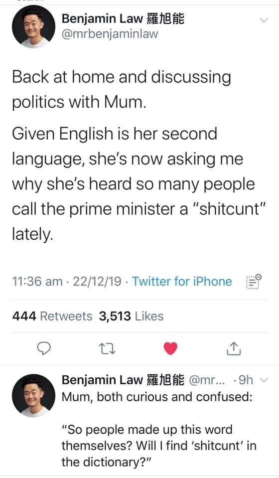 Australian politics with mum - meme