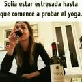 Me gusta el Yoga