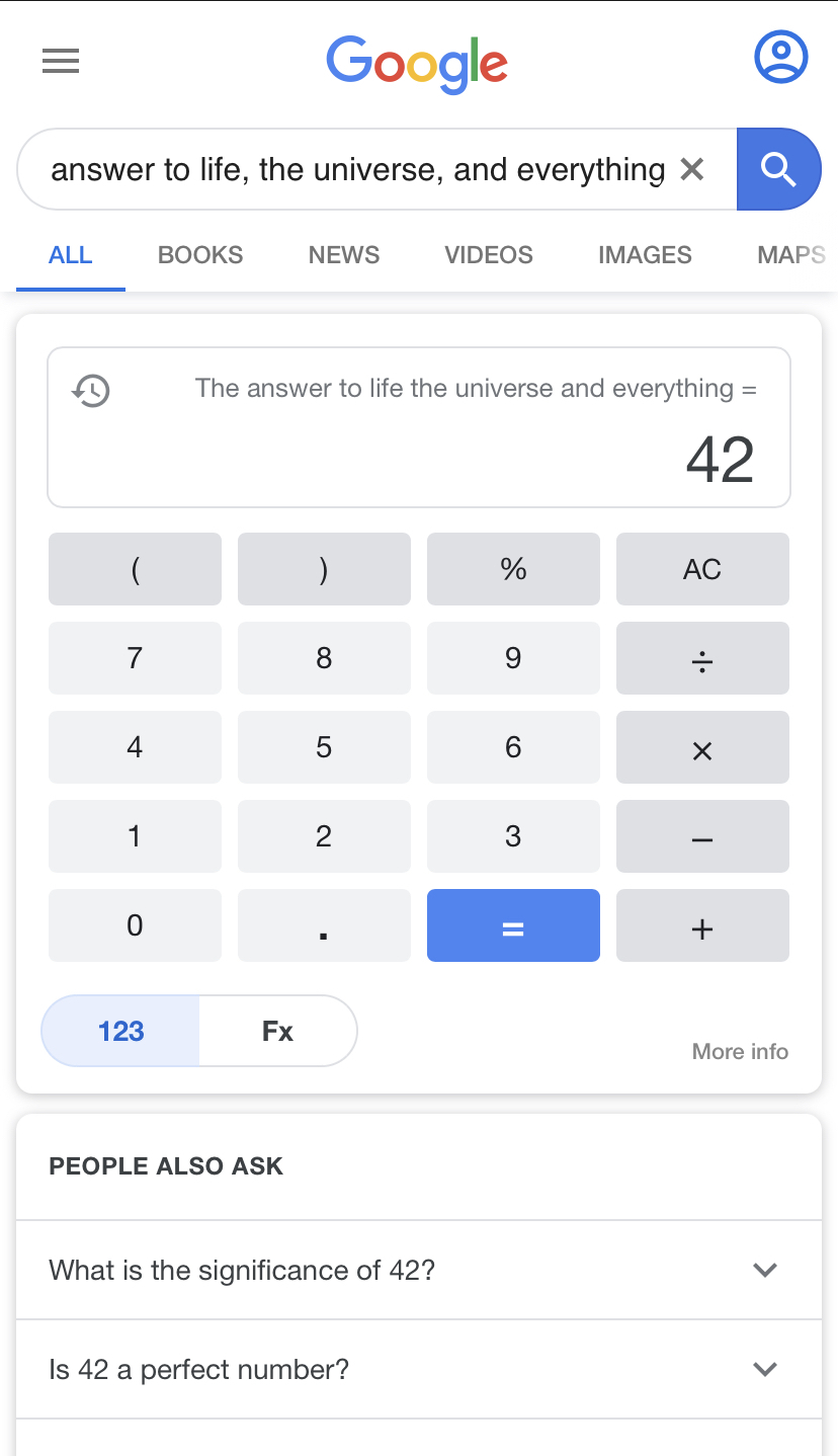 Damn google do have the answer to everything - meme