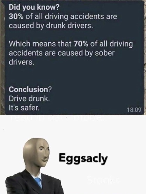 Eggsacly - meme