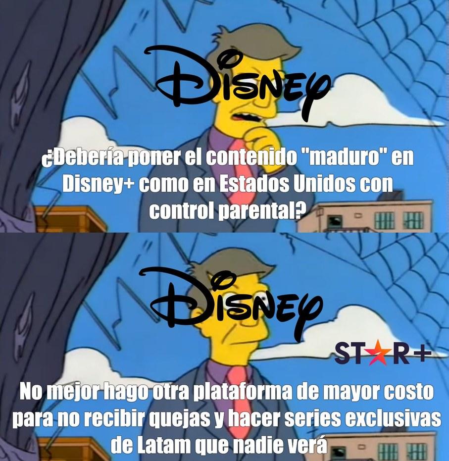 Disney de mierda - meme