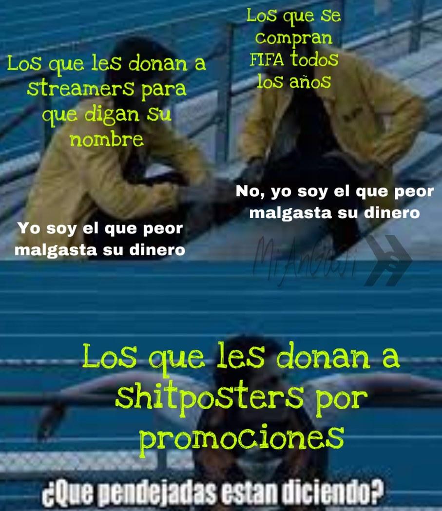 Les recuerdo que Shitpostvideos es venezolano - meme