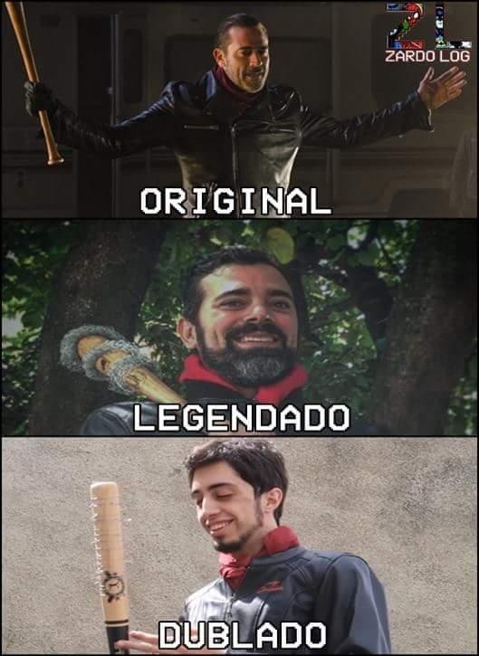 Real e oficial - meme