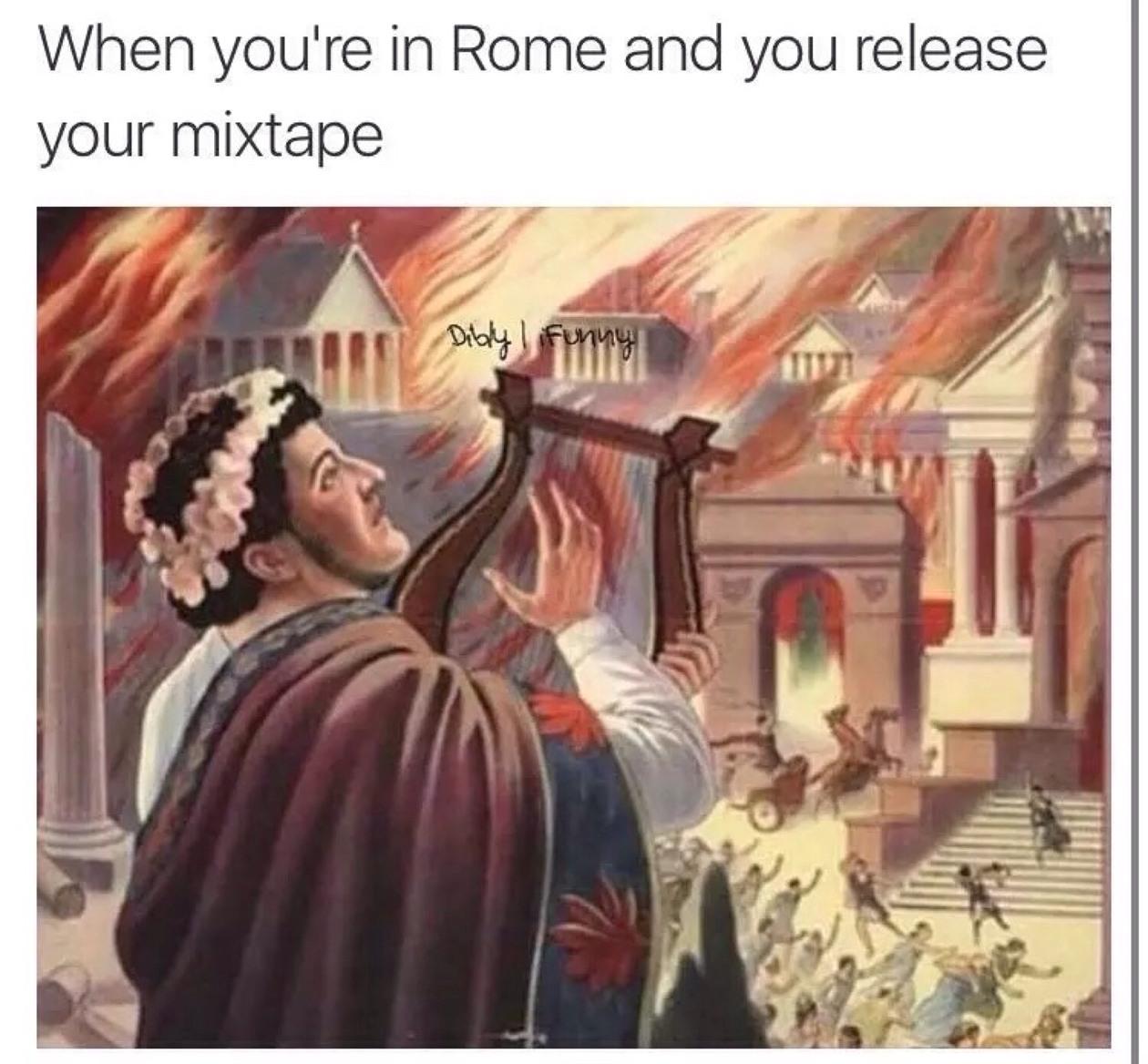 It's fire - meme