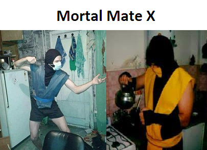Adelanto de la mortal mate X :< - meme