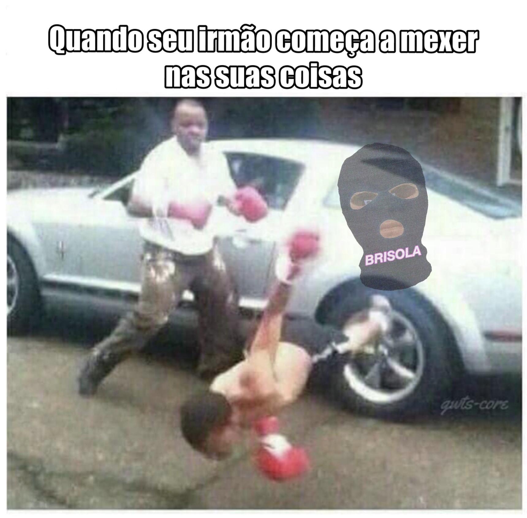 NAO MEXE ARROMBADO - meme