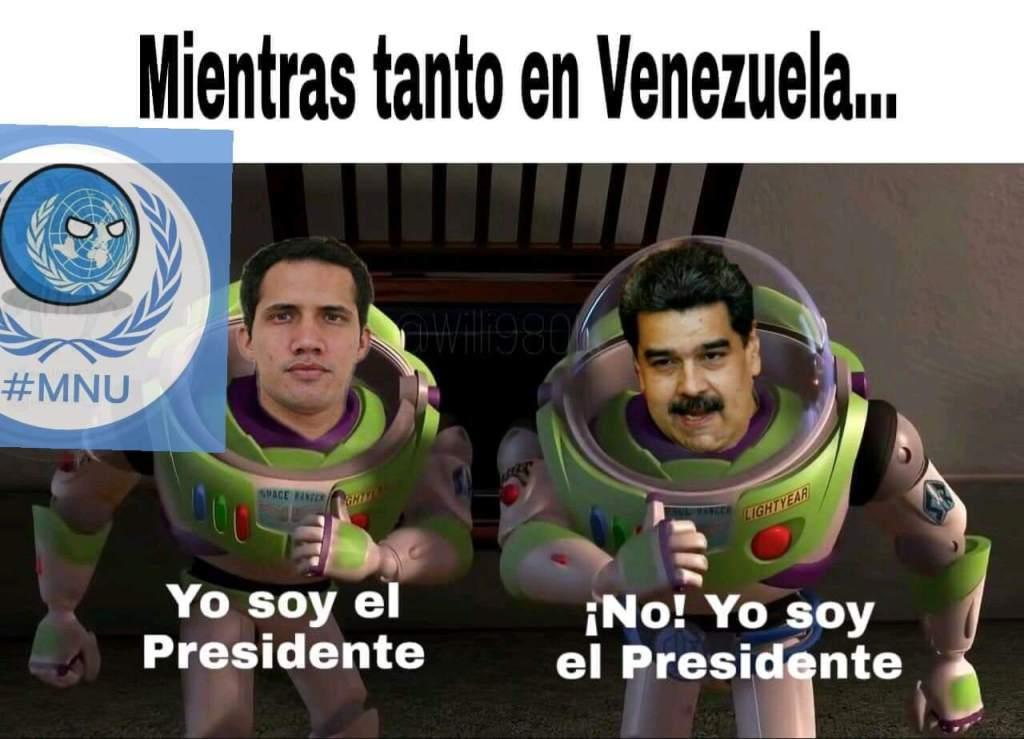 Presidente de Venezuela - meme