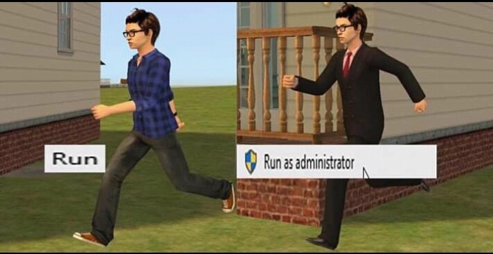 Run as a motherfucker - meme
