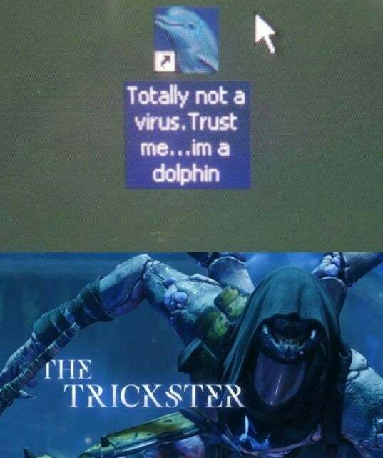 He IS a dolphin too.... - meme