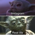 Very True Instagram vs real life