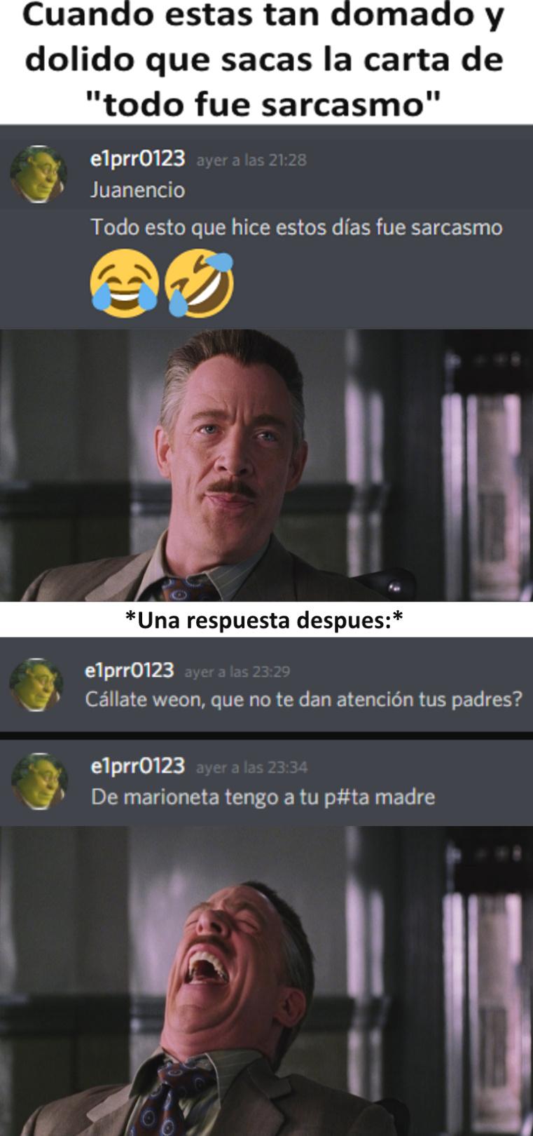 E1maric0123 Llorando parte 4 - meme