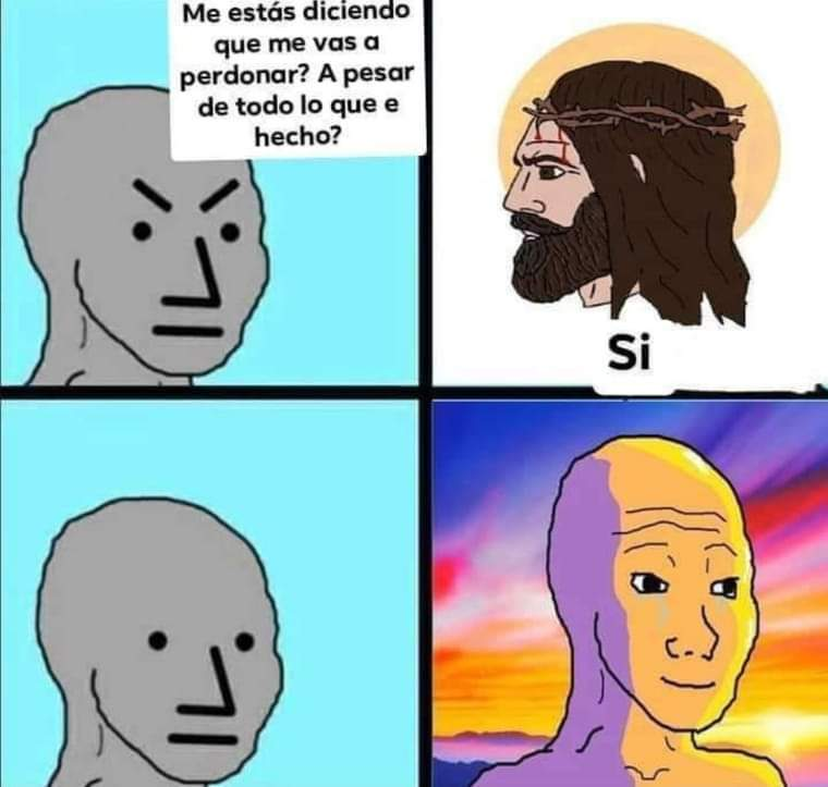 Jesús el Rey - meme