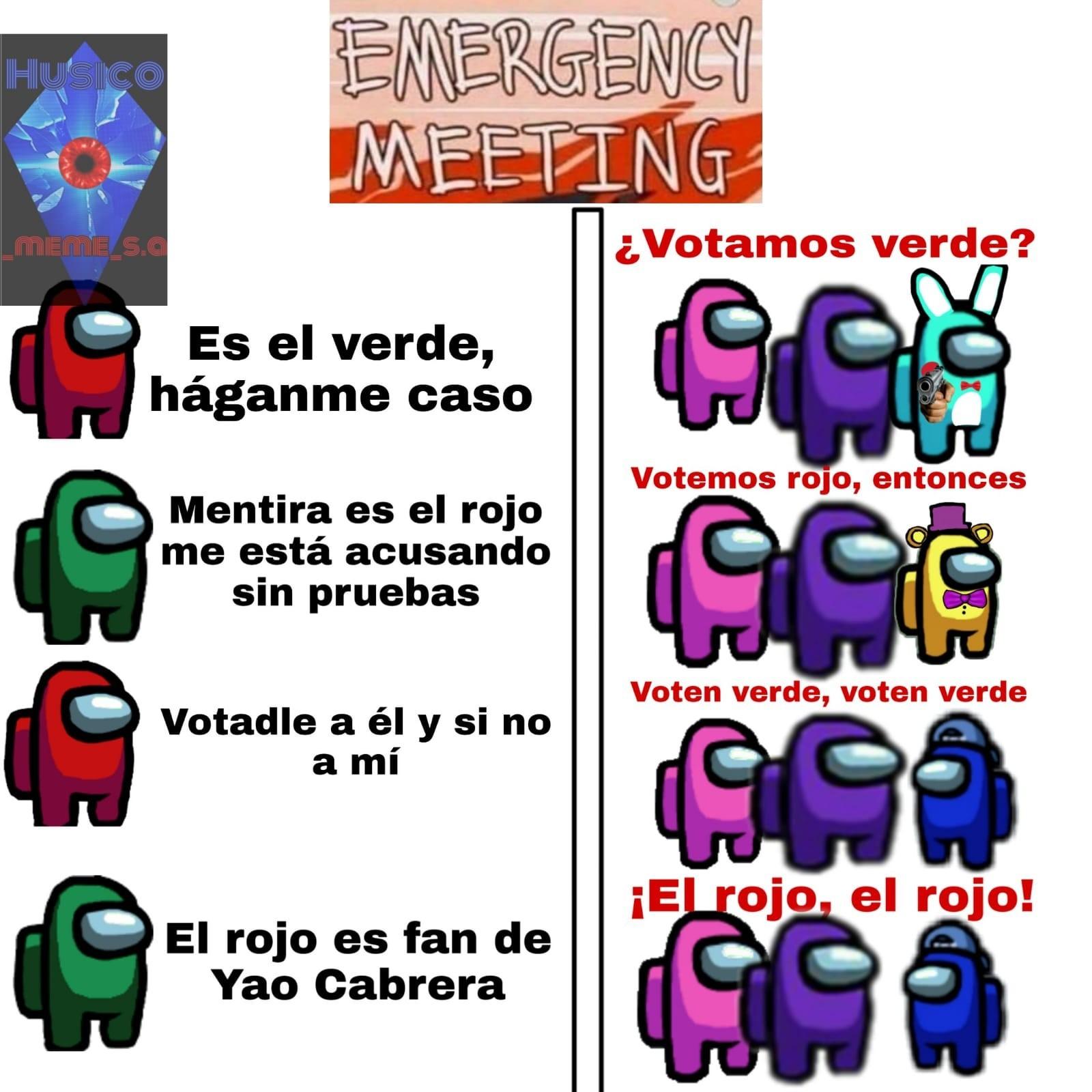 Rojoooooo - meme