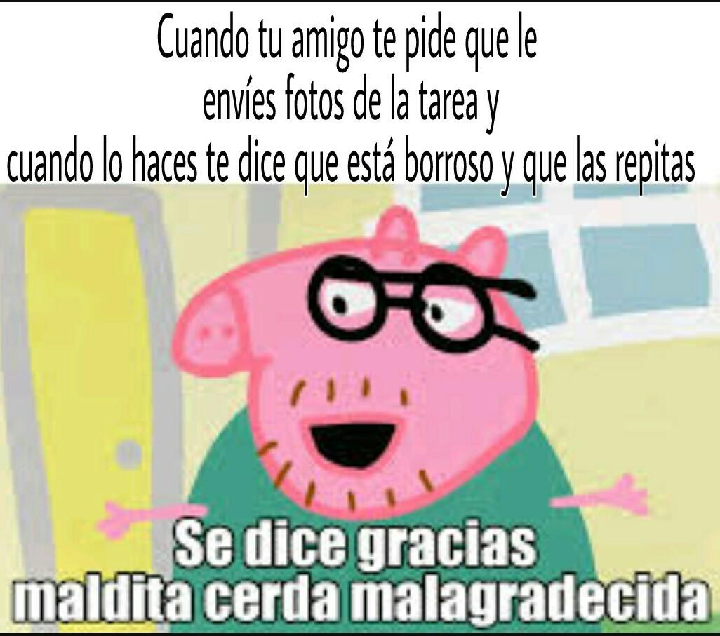 Popó pig - meme