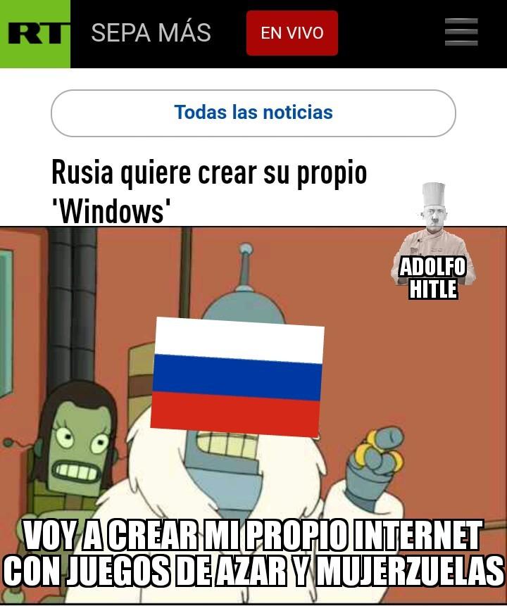 Rusia >:v - meme