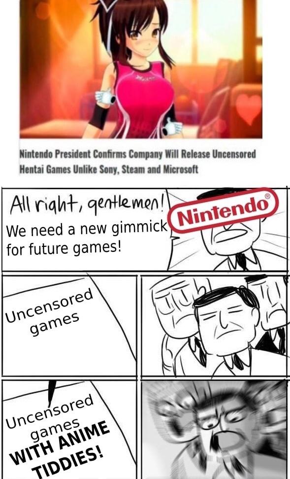 [Insert Hentai Games Here] - meme